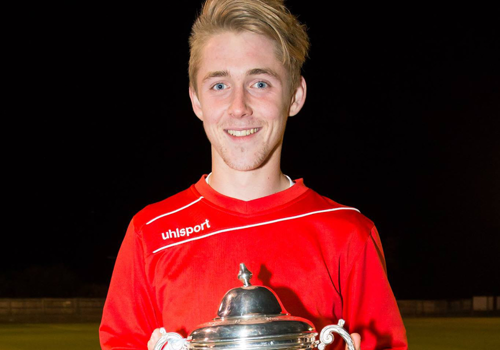 Bracknell Town winger Dan Roberts nominated for Young Player of the Year award