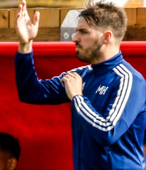 Woodley United's manager Michael Herbert on the historic season ahead