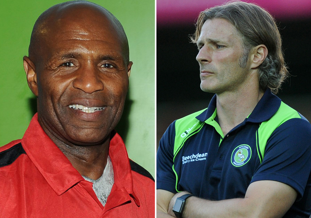 Ex-pro's Gareth Ainsworth and Luther Blissett are your Bracknell Football Award judges