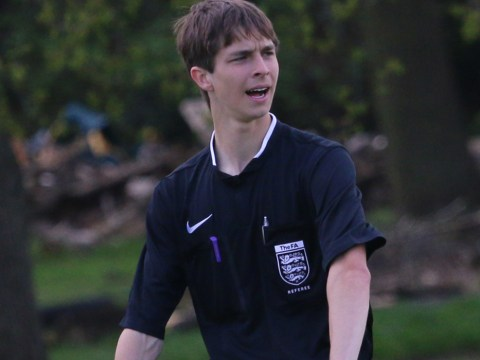 Referee George Maxwell nominated for Bracknell Football Award
