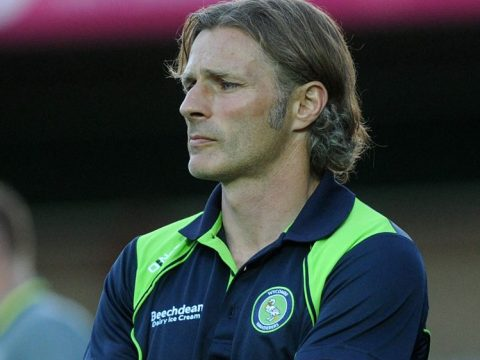 Wycombe Wanderers boss Gareth Ainsworth is still rolling back the years