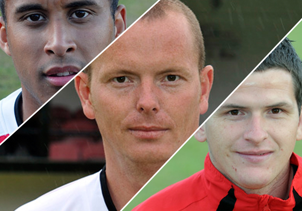 Can you identify these Bracknell Town players from 2010 to 2014