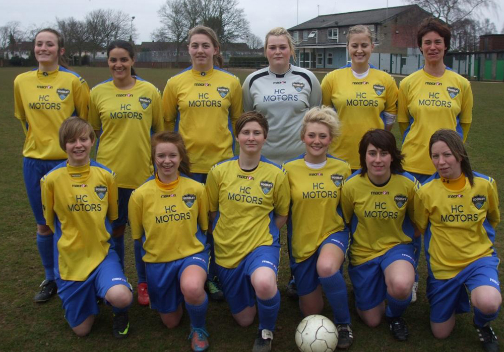Where are they now? When Woodley United Ladies were Woodley United