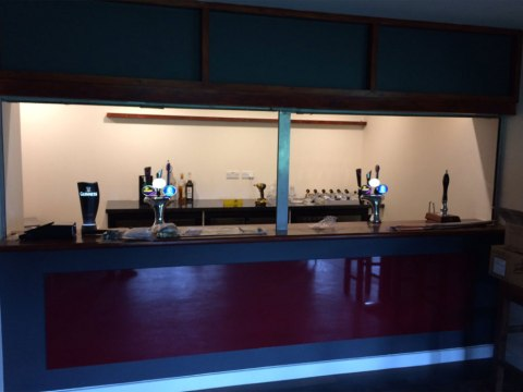 The new bar at Binfield's Hill Farm Lane looks superb!