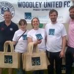 Woodley United seal shirt sponsorship deal for 2017/18 season