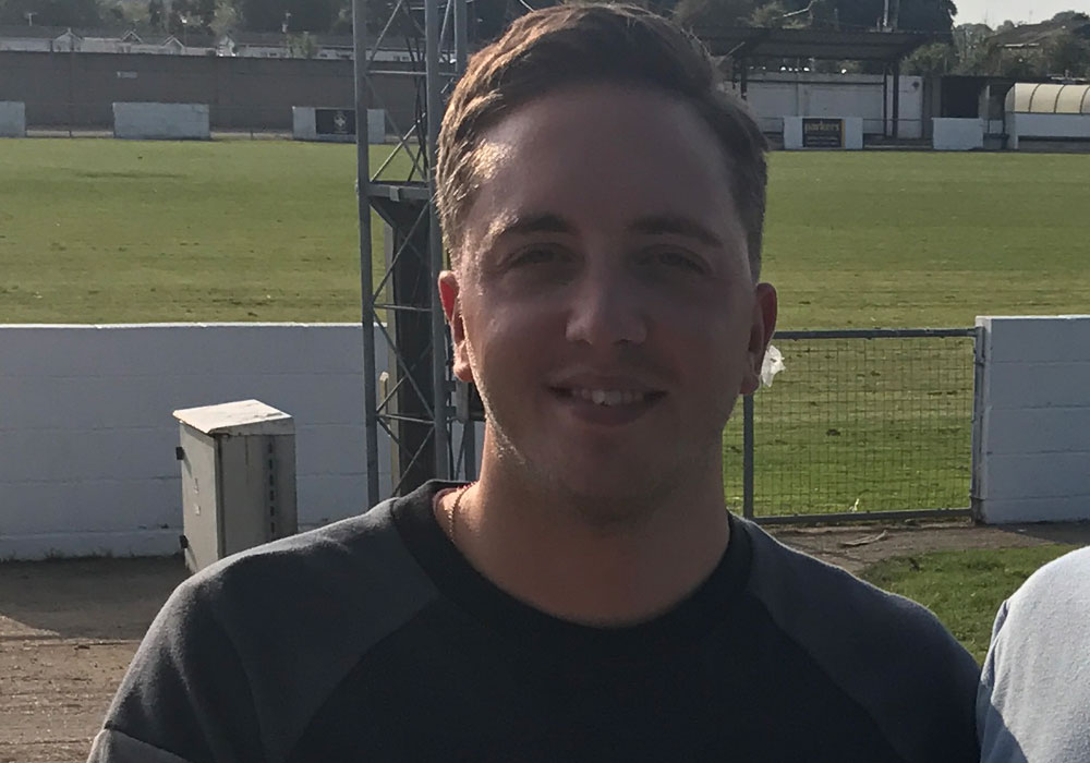 Who is James Anderson? The Woodley United manager talks to FiB