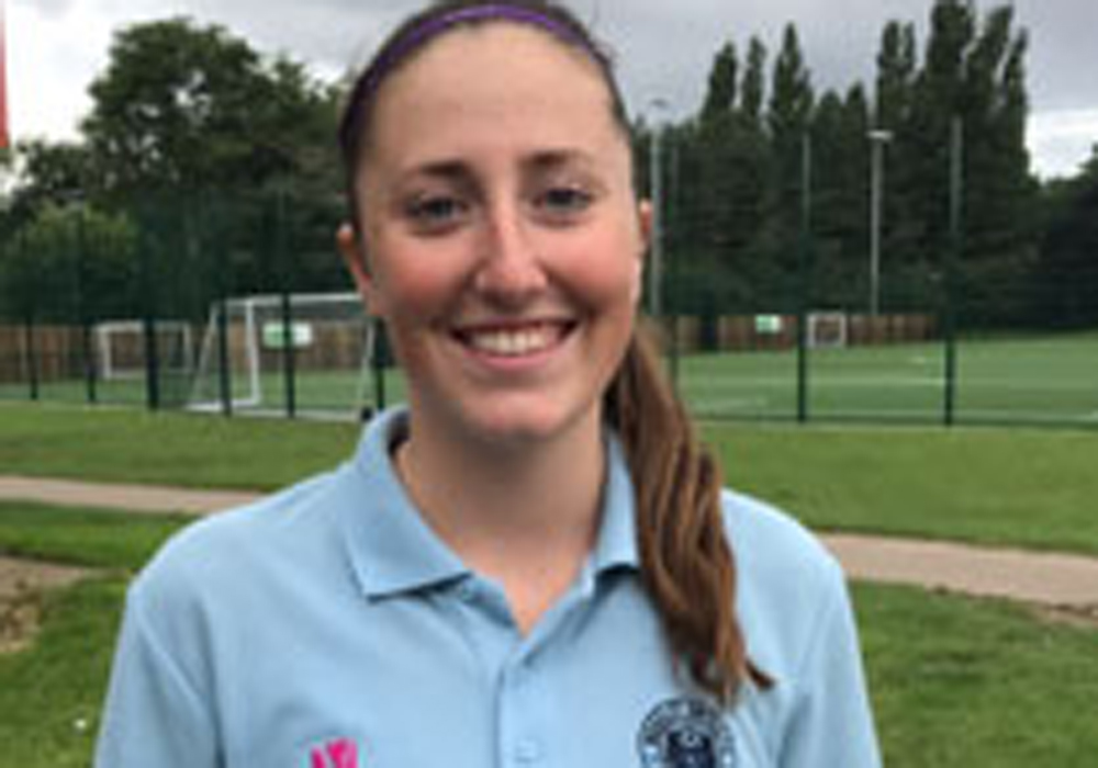 Woodley United's Mollie Haines.