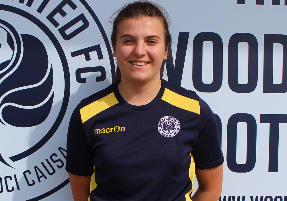 Woodley United Ladies Rosie Page-Smith.