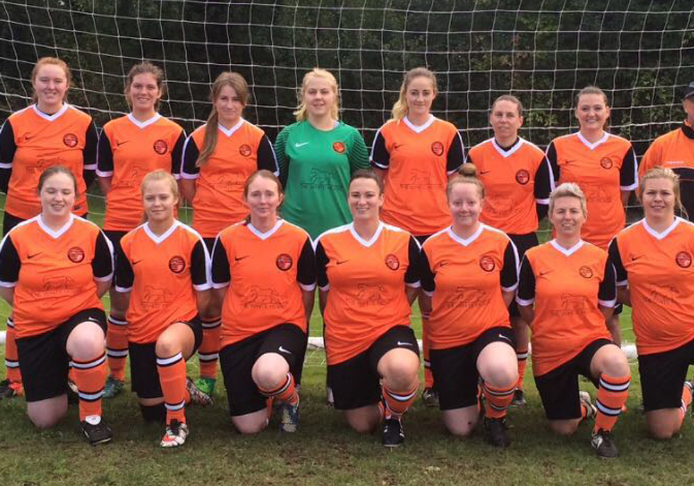 Wokingham pub backing town's new women's football team