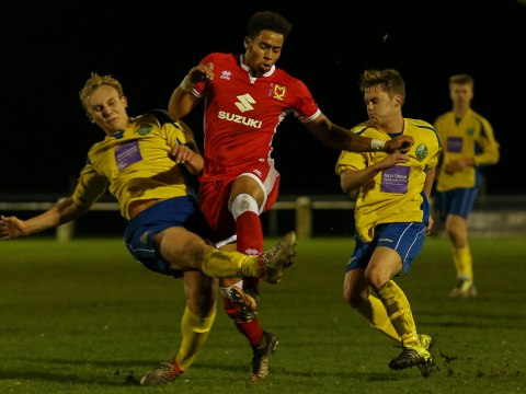 MK Dons made to work for win at Ascot United in County Cup