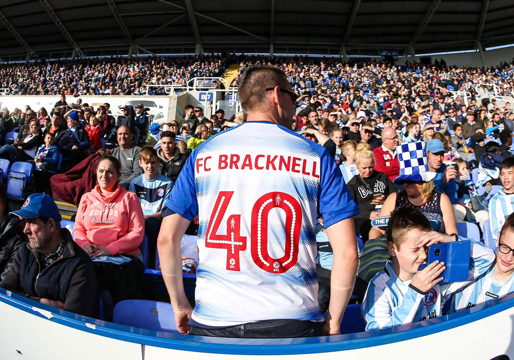FC Bracknell at Reading FC. Photo: Neil Graham.