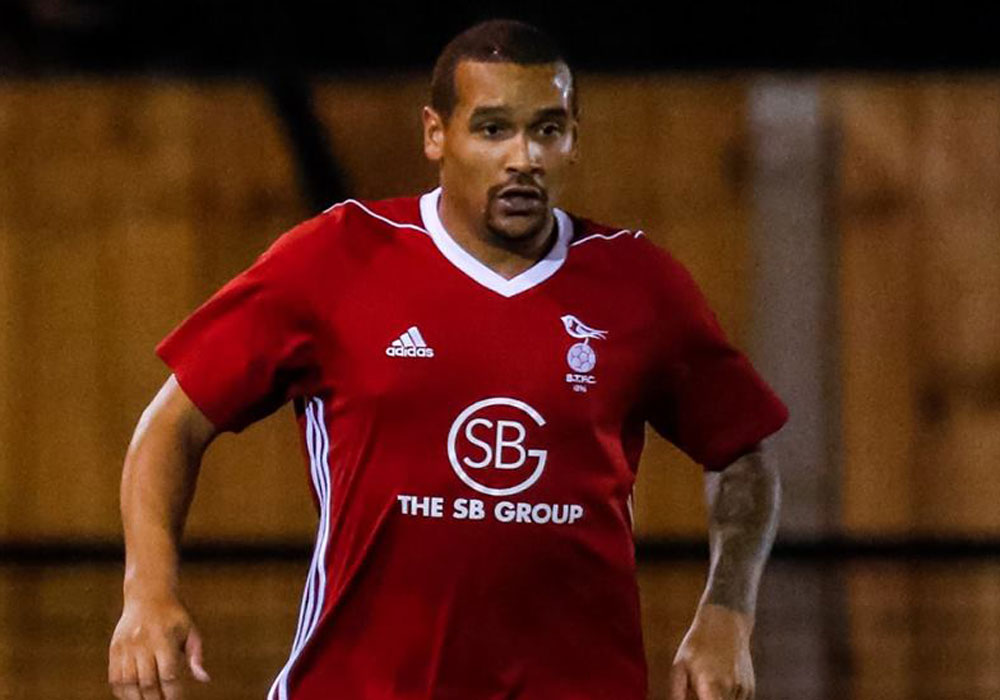 Bracknell Town's Philip John. Photo: Neil Graham.