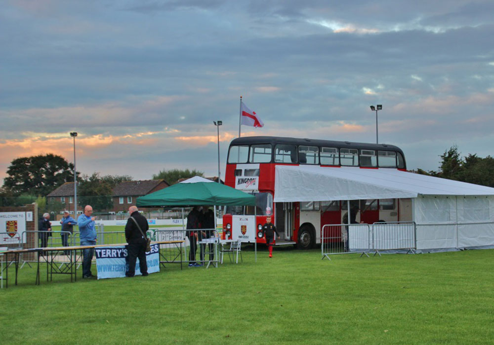 Wallingford Town's ground by Laurence Reade.