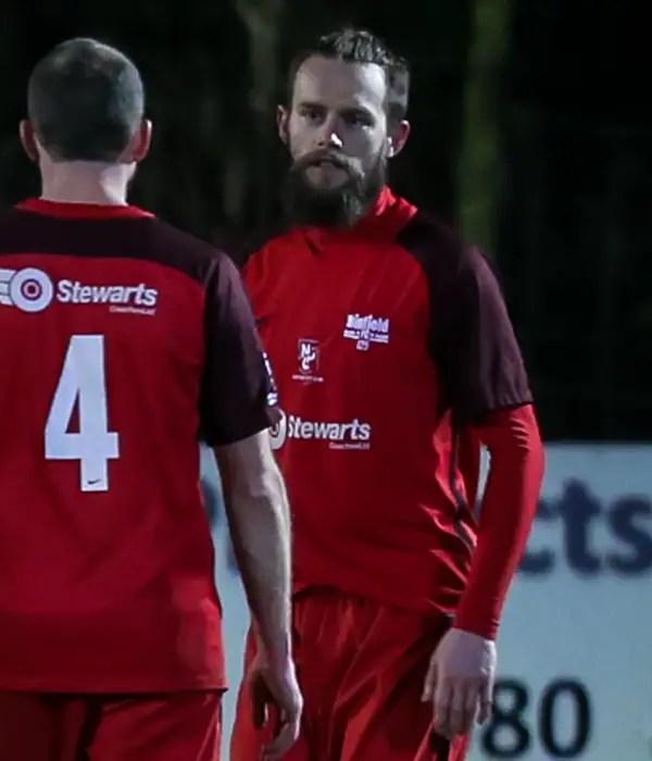 Ian Davies breaks deadlock as Binfield FC beat neighbours Woodley United FC