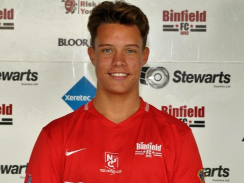Jamie Griggs seals derby win for Binfield FC in Allied Counties Youth League