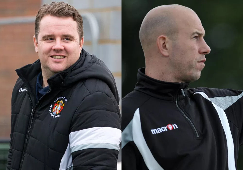 Neil Baker and Jon Underwood prepare to return to Bracknell Town FC