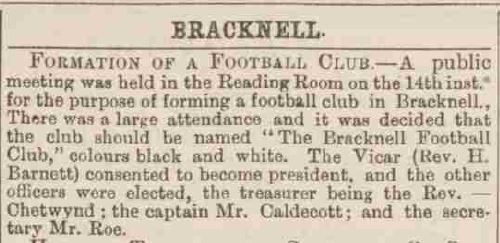 Newspaper report from the Reading Mercury 24/9/1887