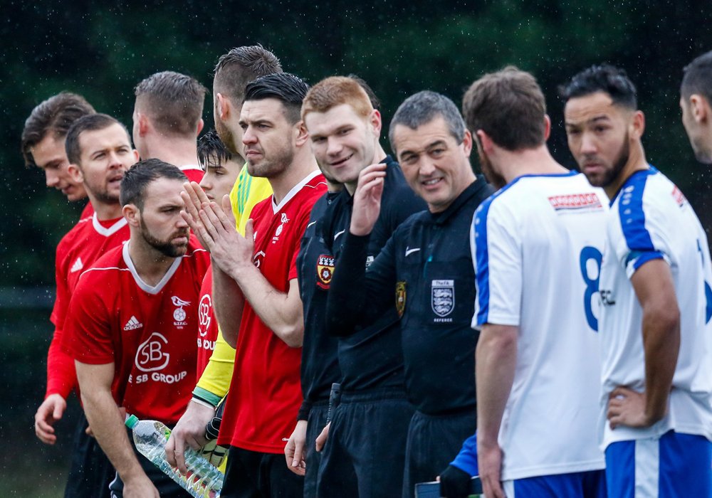 Bracknell Town Fc Gearing Up For Fa Vase Quarter Final At Larges