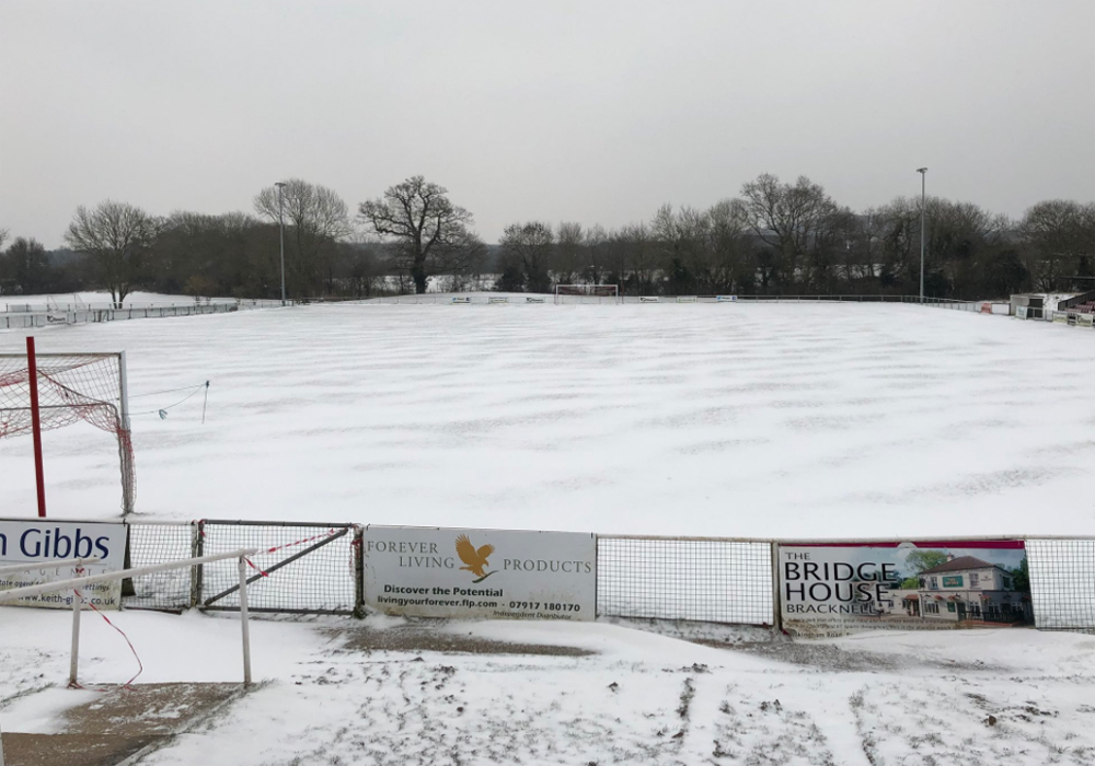 Thames Valley Premier League call off fixtures, Bracknell Sunday League unlikely