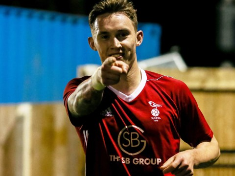 Joe Grant raises the roof at Larges Lane with late Bracknell Town winner