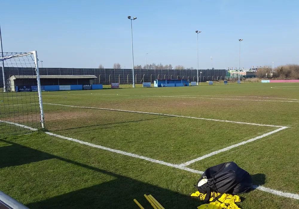 Tuffley Rovers Glevum Park ground.