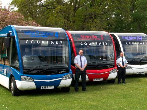 The Courtney Bus you need to get you to the game