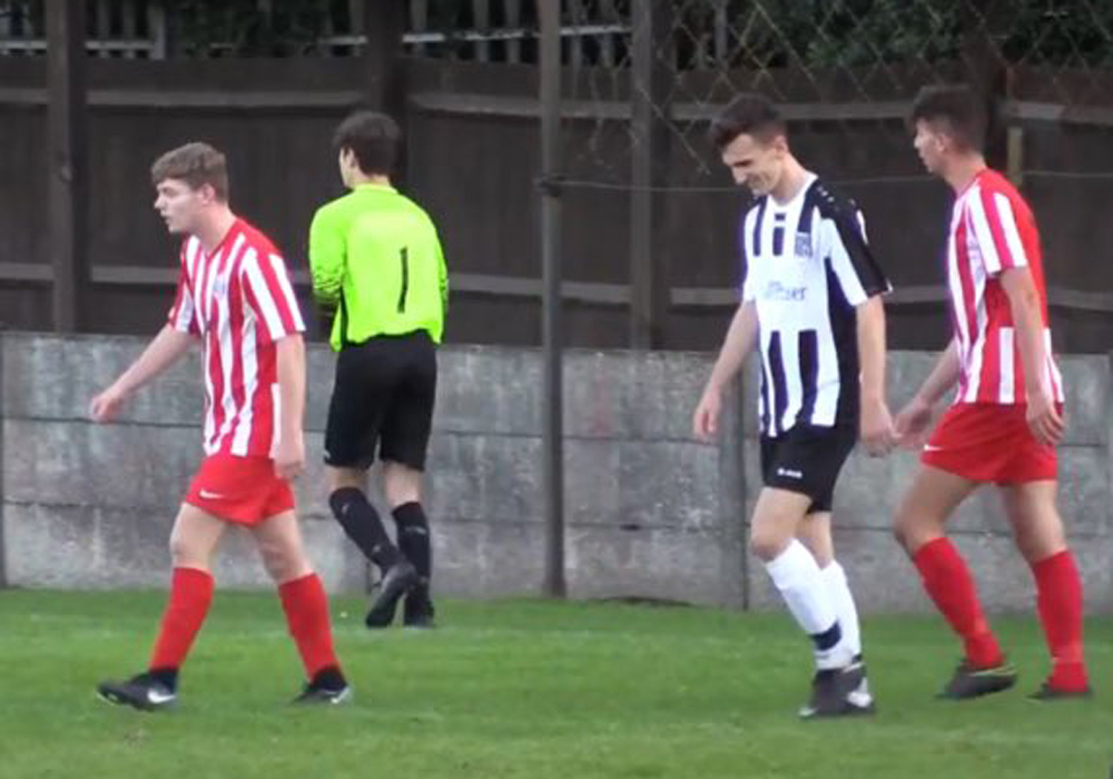 Ewan Lynch playing for Maidenhead United. Source unknown.