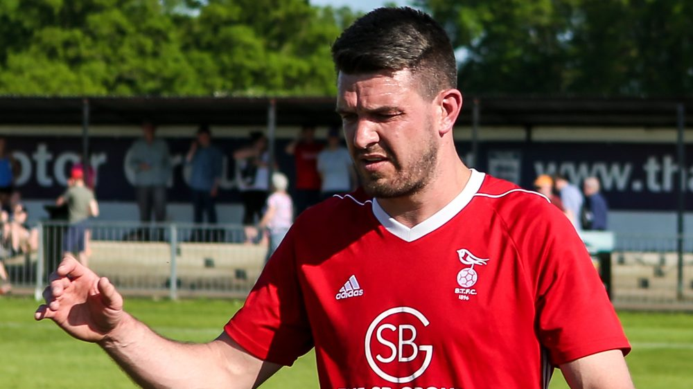 Binfield and Bracknell Town managers react to Carl Davies switch