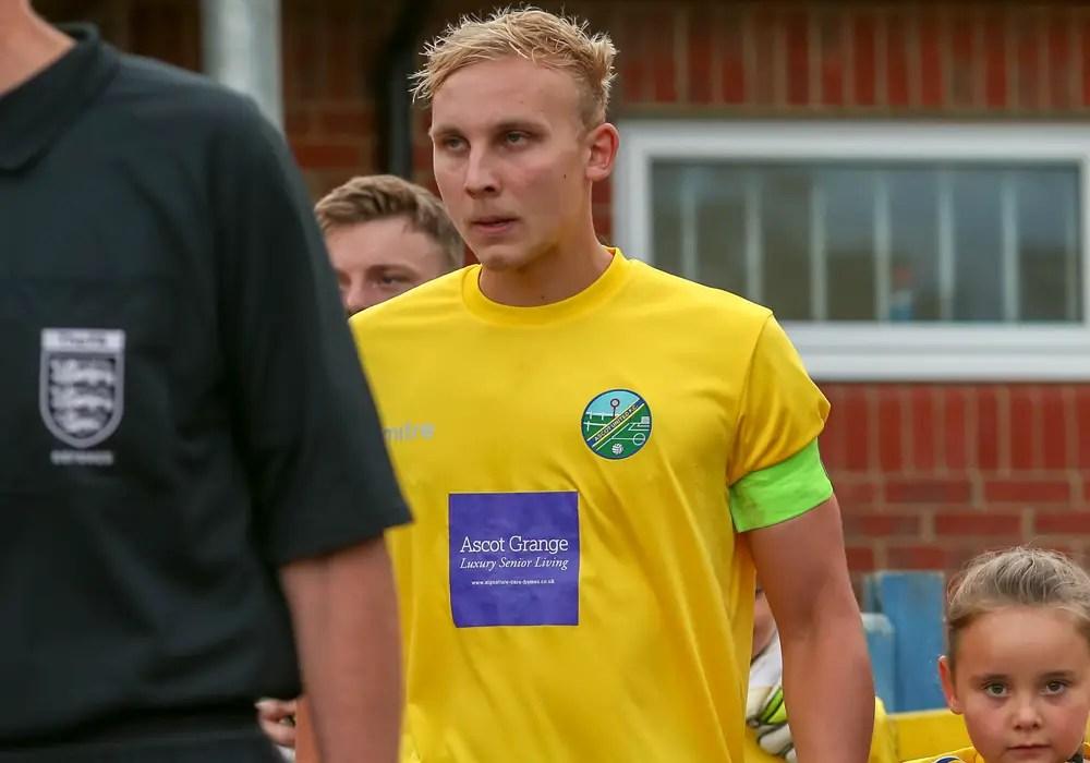 Ascot United captain Louis Bouwers. Photo: Neil Graham.