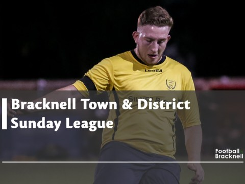Moore Close Manor and Sandhurst FFC battle it out at top Bracknell Sunday League Division 2