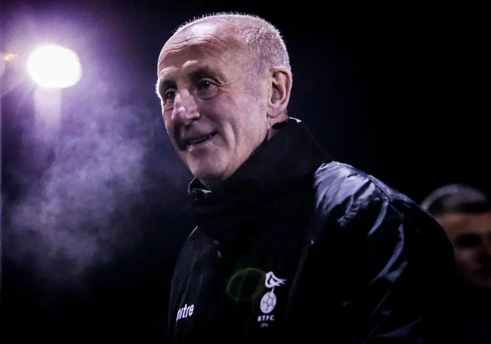 Bracknell Town manager, Geoff Warner. Photo: Neil Graham.