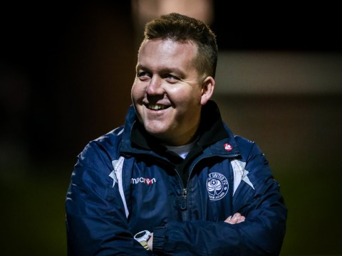 Jon Laugharne on Woodley United's Monday night defeat