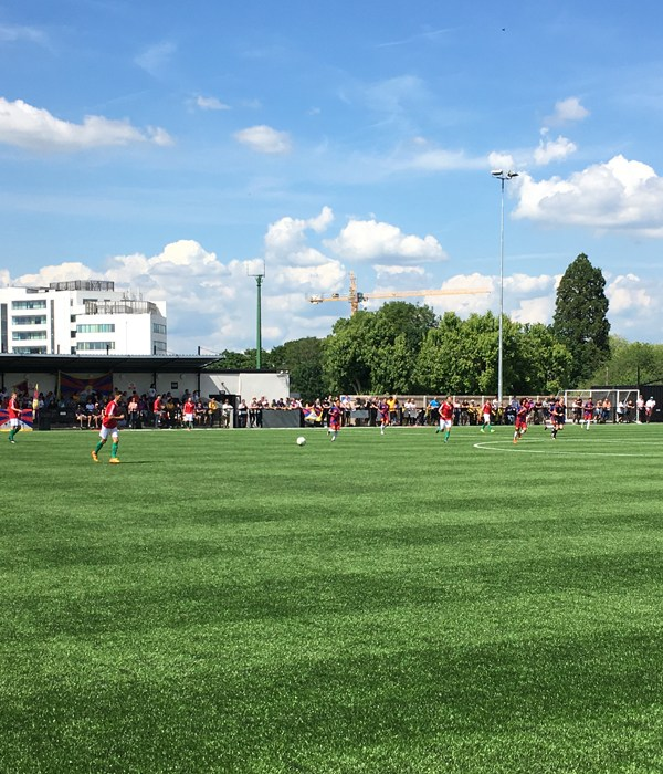A perfect match day: Bracknell Town FC