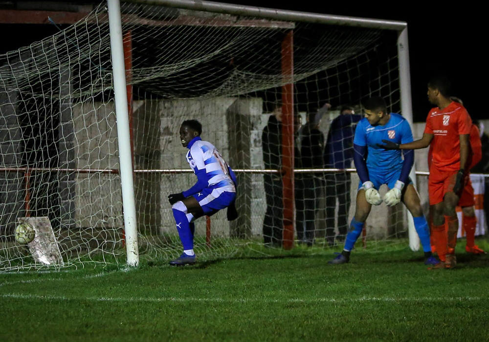 Flackwell Heath vs Reading FC u23. Photo: Neil Graham.