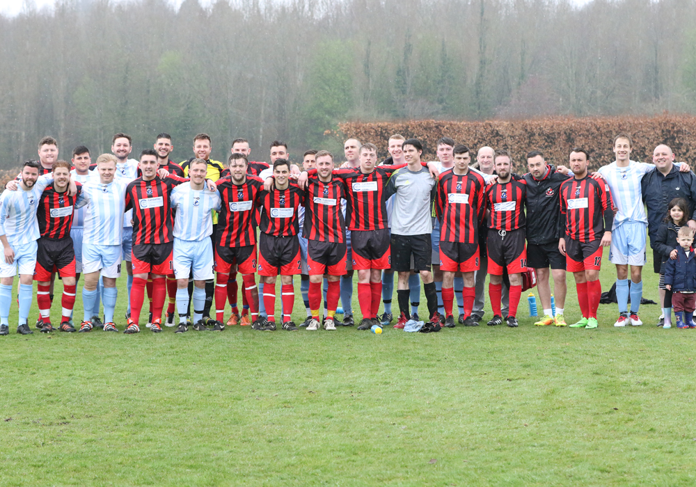 Nick Markham Memorial Day at Finchampstead FC.