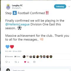 Meet Langley FC, the Hellenic League step 6 new boys