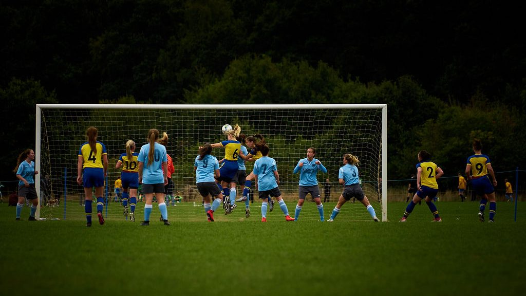 Gameplan for Growth strategy smashes target for women's football participation