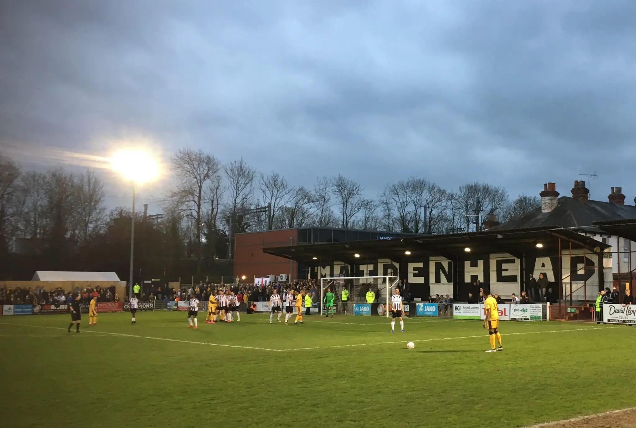 Maidenhead United host Football Focus ahead of FA Cup tie