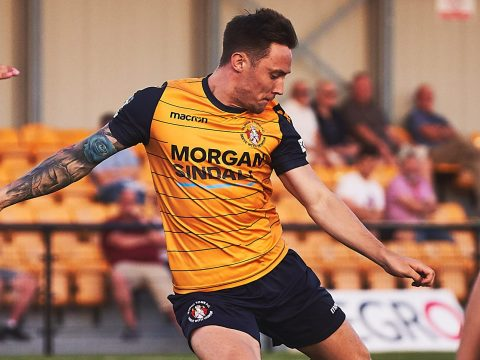 Slough Town make Joe Grant a National League player