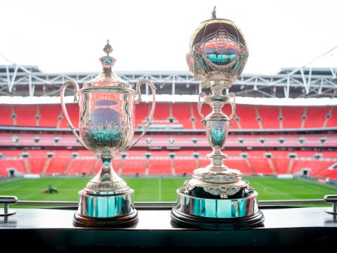 FA Trophy and FA Vase fixtures and all Saturday's Non League Day matches