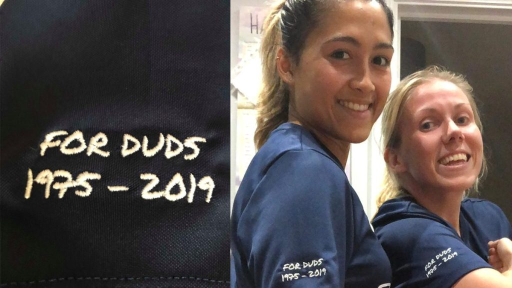 Berkshire women's team unveil kit honouring Darrell Freeland