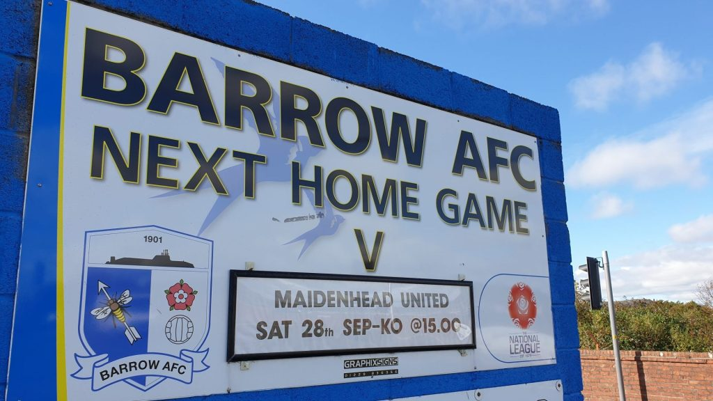 300 miles and dayglo socks – it's Barrow away!