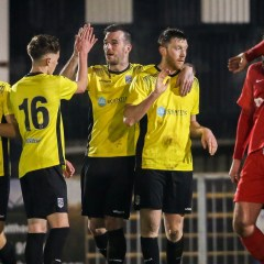 Maidenhead United through in County Cup; Hungerford Town impress