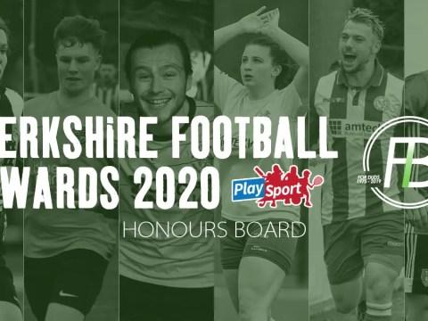 Berkshire Football Awards – Honours Board