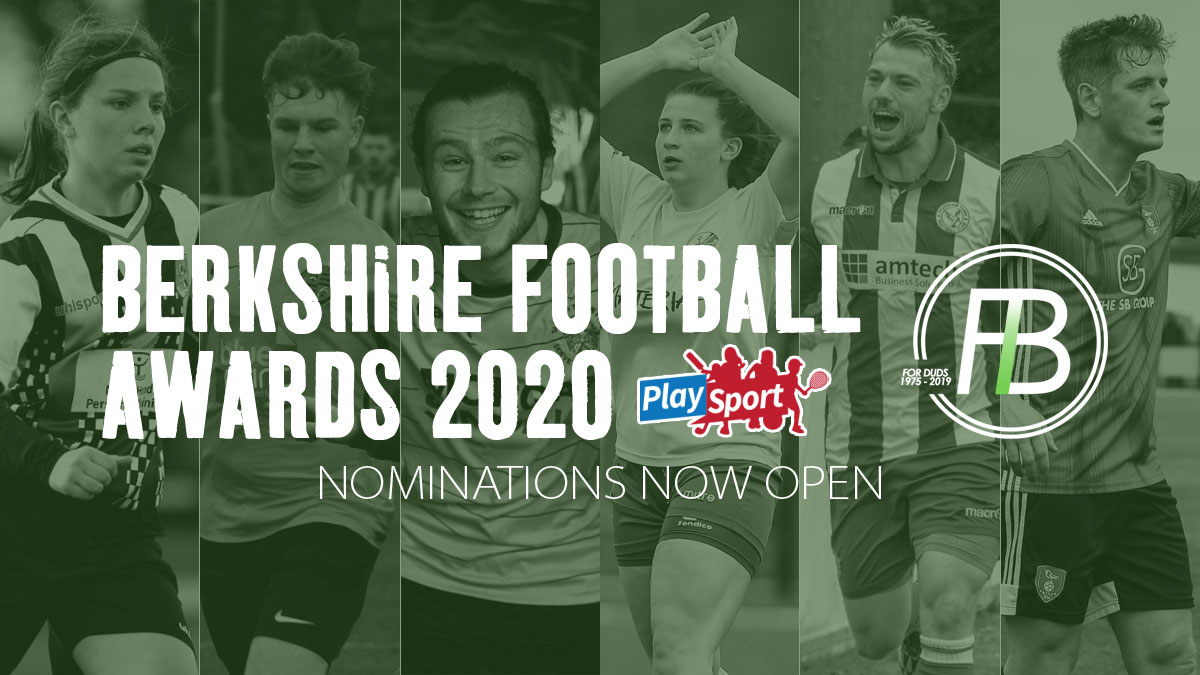 Nominations now open for the 2020 Berkshire Football Awards