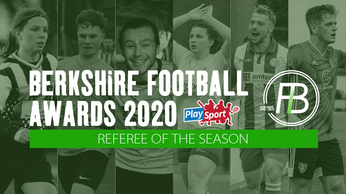 Referee of the Year nominations open Berkshire Football Awards