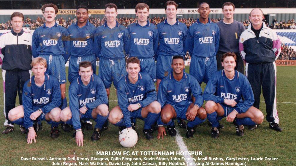 Marlow FC, Tottenham Hotspur and some incredible FA Cup consistency