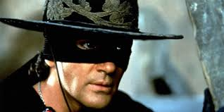 The mask of Zorro....but better known as the sexy Antonio Banderas