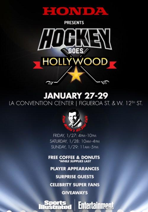 hockey goes hollywood
