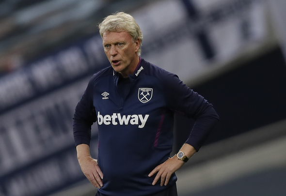 West Ham coach David Moyes